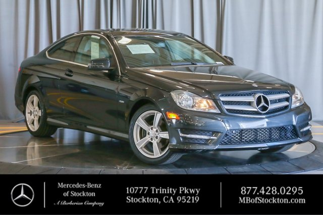 Pre Owned 2012 Mercedes Benz C 250 With Navigation