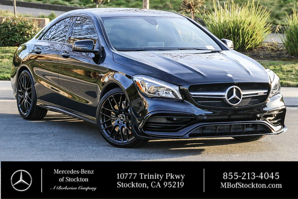 Certified Pre-Owned 2018 Mercedes-Benz CLA AMG® CLA 45