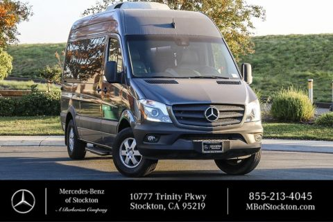 New 2017 Mercedes-Benz Sprinter Passenger Van PRESTIGE MOTORCOACH FAMILY TRAVELER
