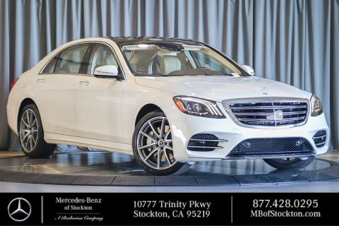 New 2019 Mercedes-Benz S 560 RWD SEDAN