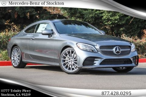 New 2019 Mercedes-Benz C 300 RWD COUPE