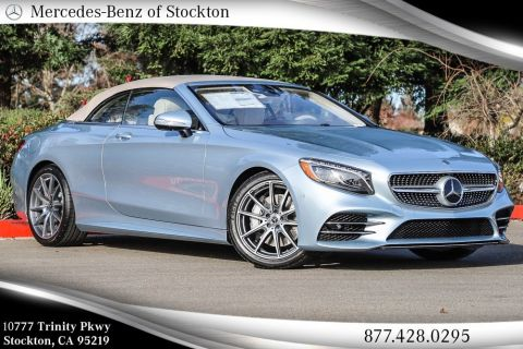 New 2019 Mercedes-Benz S 560 RWD CABRIOLET